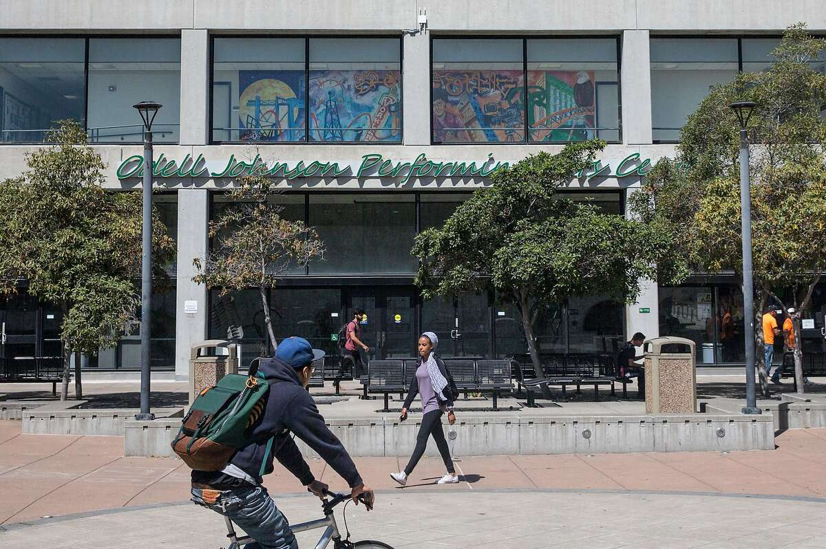 Oakland's Laney College is among the four in the Peralta college district, which is beset by turmoil and accusations as the election nears.