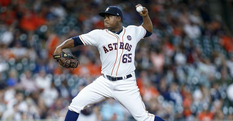 PHOTOS: Astros game-by-game Houston Astros starting pitcher Framber Valdez (65) pitches during the first inning as the Houston Astros take on the Minnesota Twins at Minute Maid Park Wednesday Sept. 5, 2018 in Houston. Browse through the photos to see how the Astros have fared in each game this season. Photo: Michael Ciaglo/Staff Photographer