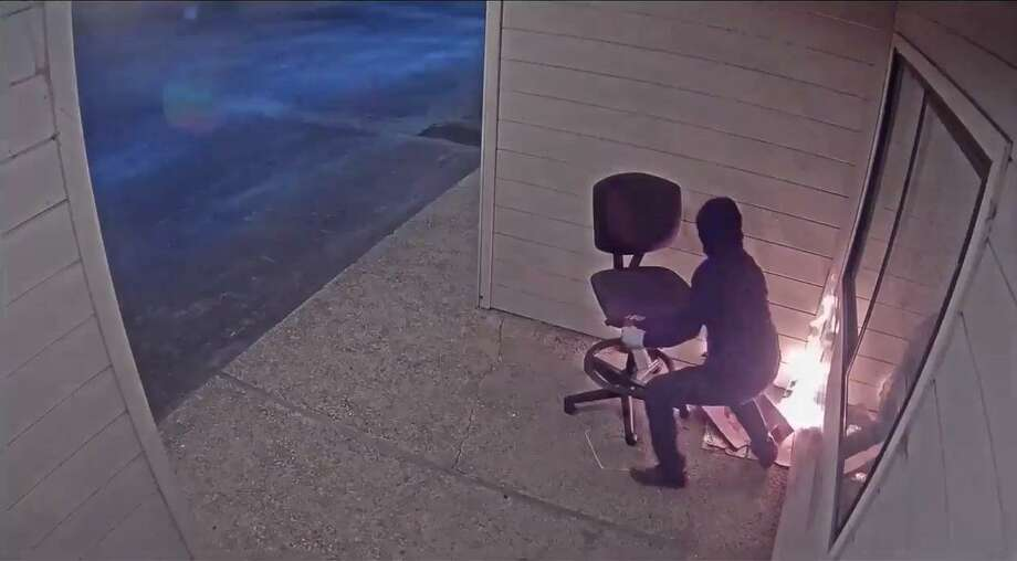 Authorities are offering a $10,000 reward for information leading to the arrest of a person who intentionally set a fire at a Watsonville Planned Parenthood building in July. Photo: Watsonville Police Department