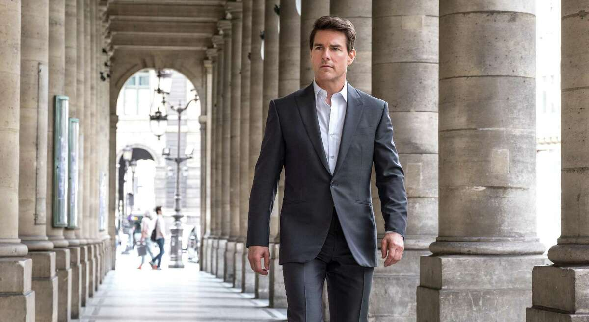 """Tom Cruise stars in """"Mission: Impossible - Fallout,"""" one of this year's big box-office hits."""