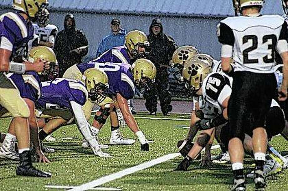 Routt Catholic High School Rockets versus Camp Point Central Panthers Photo: Samantha McDaniel-Ogletree | Journal-Courier