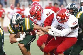 Nixon High School played against rivals Martin High School at Shirley Field on Friday, Aug. 31, 2018.