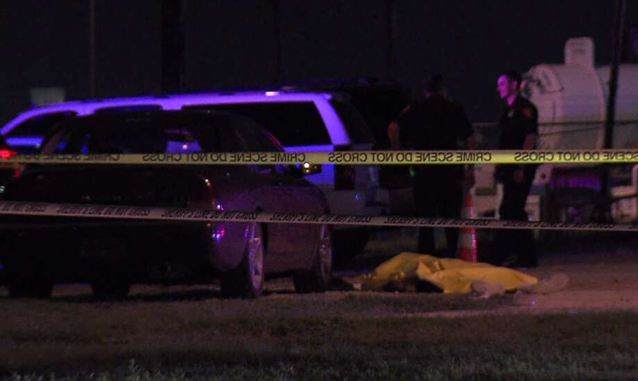 Officers at the scene said one of the men pulled a gun and fired several shots. Photo: J.J. Trevino / 21 Pro Video
