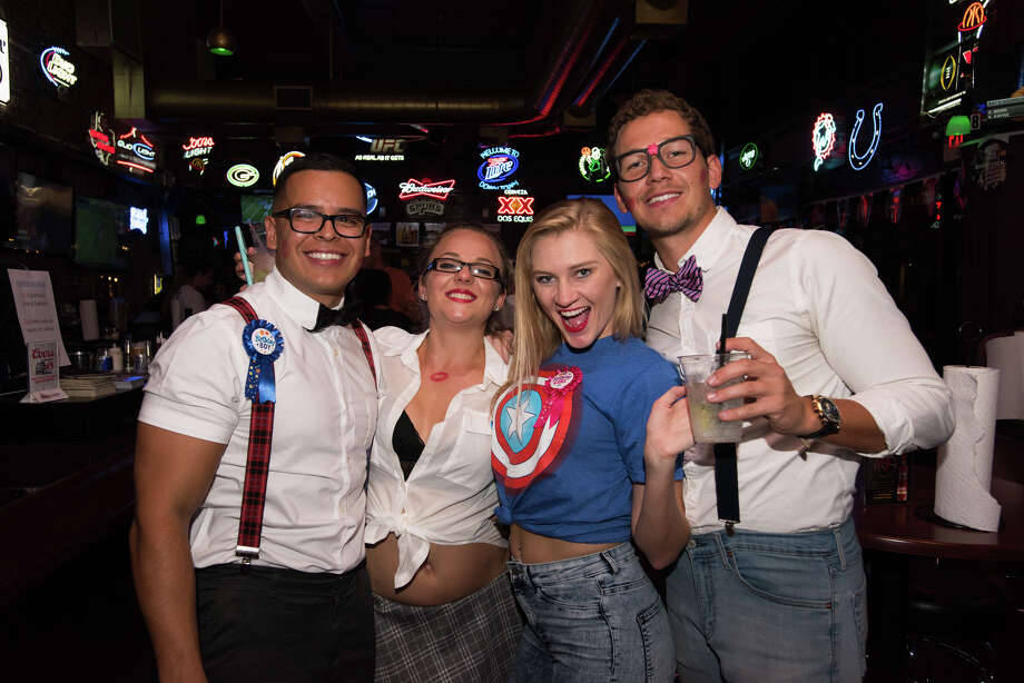 San Antonio embraced the Return of the Nerds theme for the Pub Run on Friday, Sept. 7, 2018. Photo: Aiessa Ammeter For MySA.com