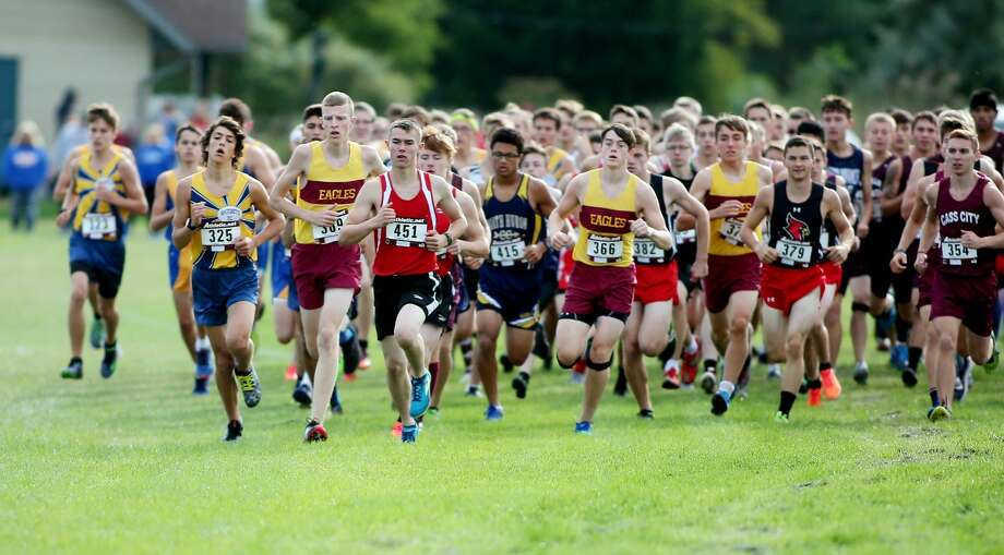 Hatchet Cross Country Invitational 2018 Photo: Paul P. Adams/Huron Daily Tribune