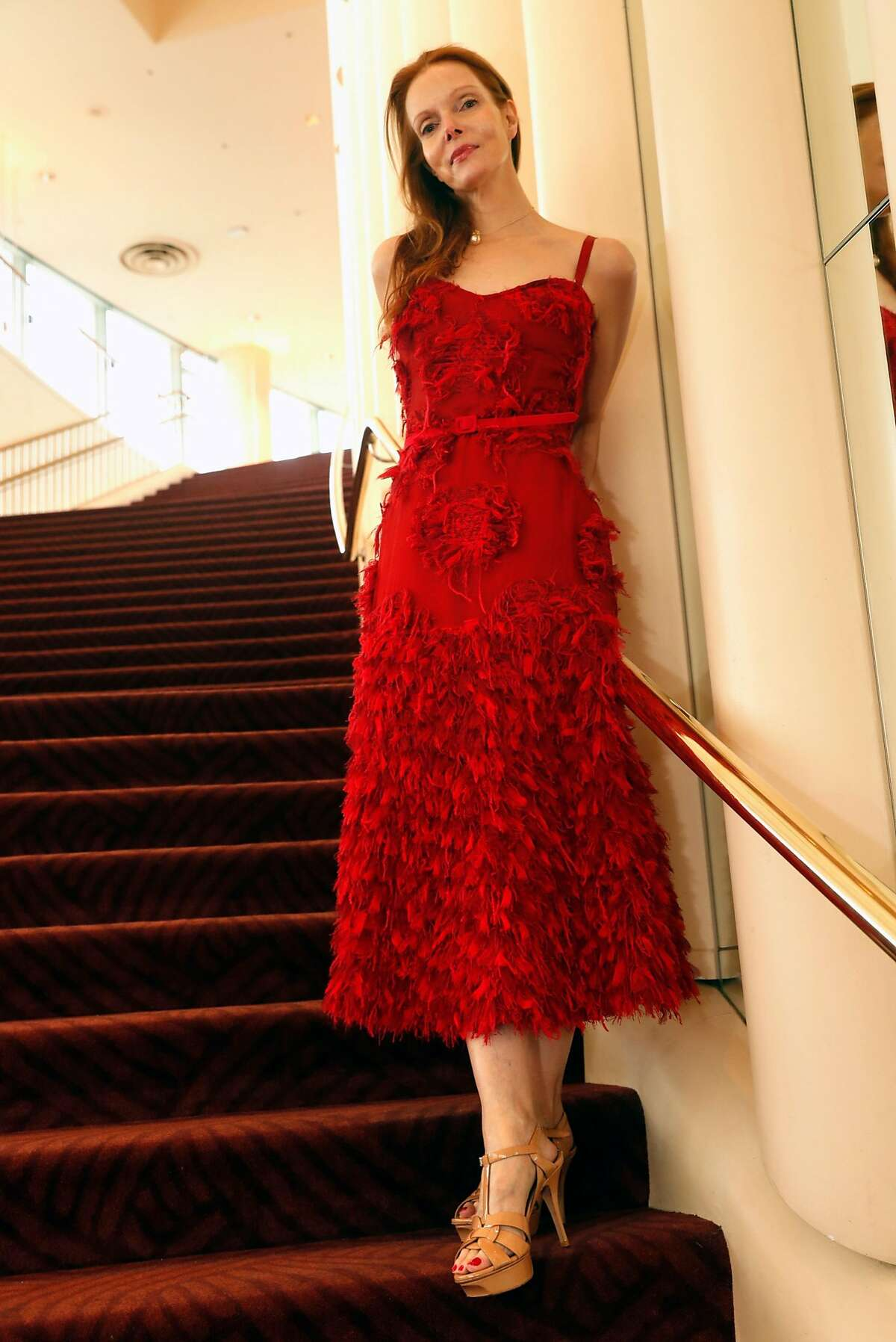 Sara Steingart wearing Alexander McQueen before Symphony Gala at Davies Symphony Hall in San Francisco, Calif. on Wednesday, September 5, 2018.