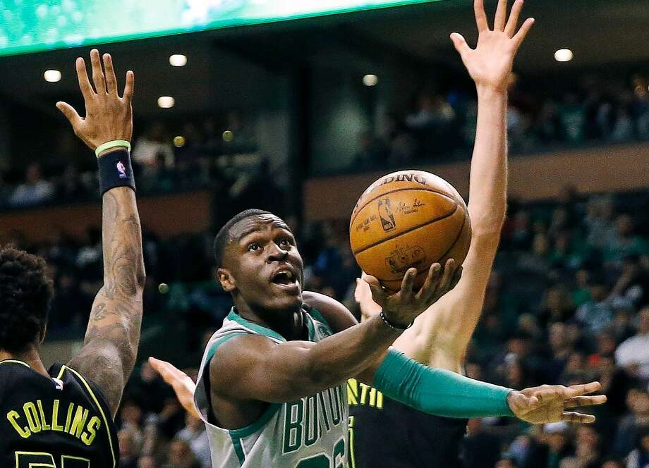 Boston Celtics guard Jabari Bird, who played college ball at Cal, is facing several charges following a domestic incident in which a victim was injured, police said. Photo: Michael Dwyer / Associated Press