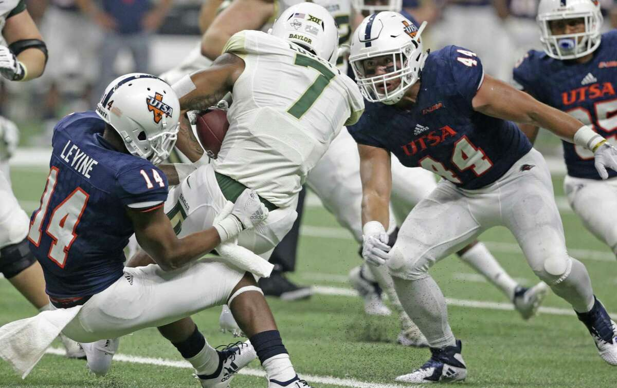 The challenges UTSA senior linebacker Les Maruo faces on the field are nothing compared to what he has already overcome.