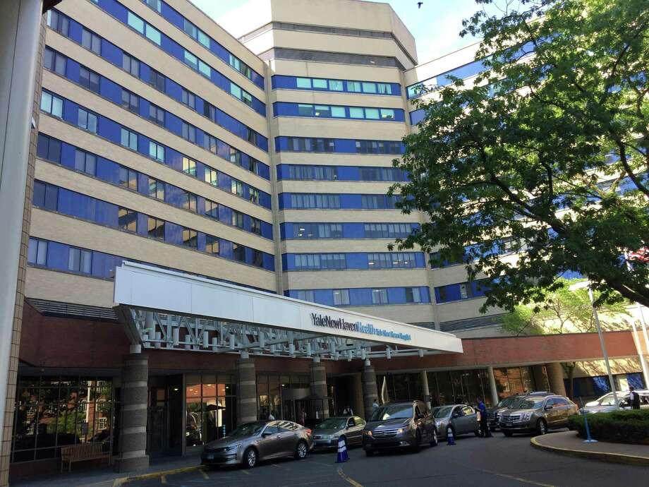 Yale New Haven Hospital. Photo: Ben Lambert / Hearst Connecticut Media