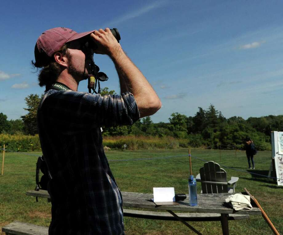 Greenwich Audubon will host its 20th Annual Fall Festival & Hawk Watch from 11 a.m. to 5 p.m. Sept. 15 and Sept. 16 on its grounds at 613 Riversville Road. The family-friendly nature festival celebrates the fall season and annual migration of raptors. Enjoy amazing raptor shows, wildlife releases, carnival games, food trucks, music, hay rides, a climbing wall and much more. Admission at the door is $10 per member or $15 per nonmember, with a 10 percent discount online. Children 2 or under are free. For info, visit greenwich.audubon.org. Photo: File / Bob Luckey Jr. / Hearst Connecticut Media / Greenwich Time
