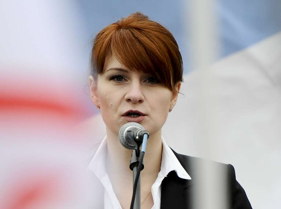 Russian gun rights advocate Maria Butina is accused of being a covert agent in Washington. Photo: Associated Press 2013