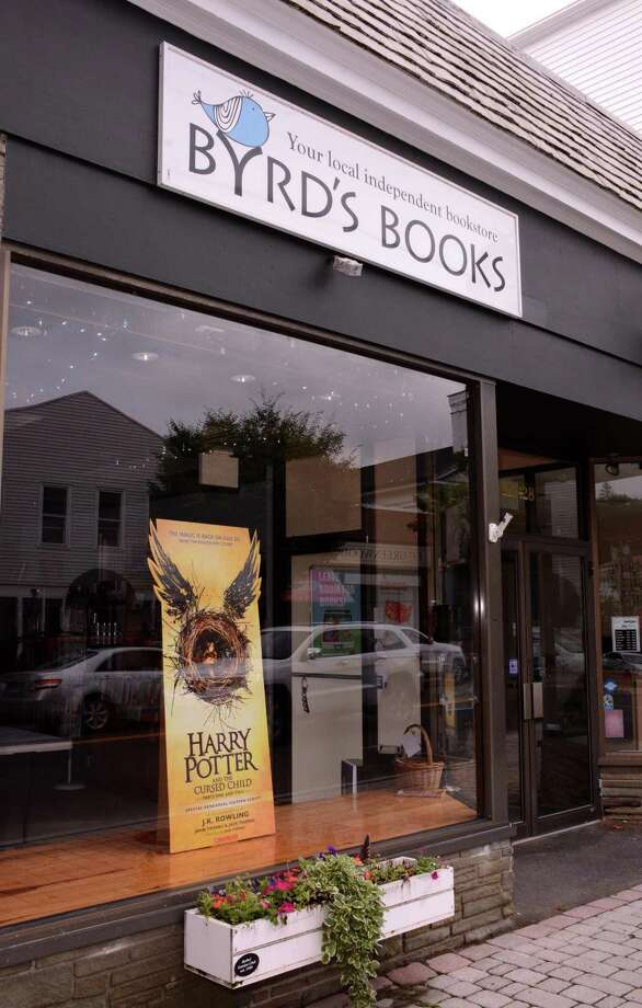 "Byrd's Books in Bethel opened early on Sunday, July 31, 2016 for Harry Potter fans to get their copy of the newly released book, ""Harry Potter and the Cursed Child"". Photo: Lisa Weir / For Hearst Connecticut Media / The News-Times Freelance"