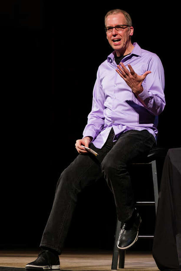 Frank Warren, creator of the PostSecret blog. Photo: Photo By Mark Schierbecker