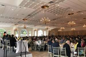 The state Democratic Party's women's leadership brunch Sept. 9, 2018.