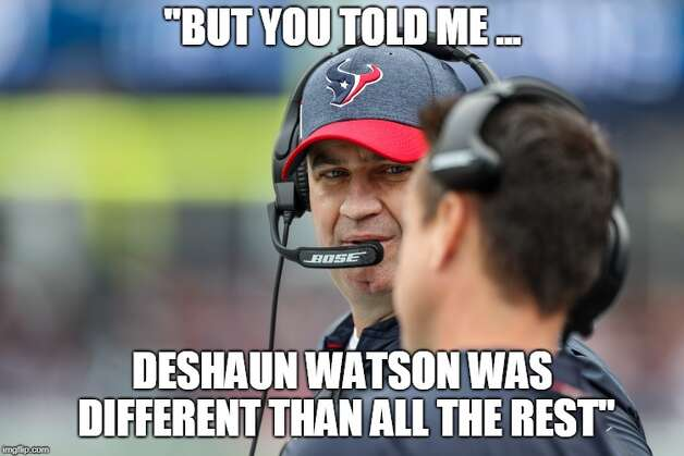 Houston Texans Week 1: Patriots 27, Texans 20  A season filled with such promise started with a thud when Deshaun Watson threw for just 176 yards and had an interception and a fumble. Photo: Twitter/Chron_MattYoung