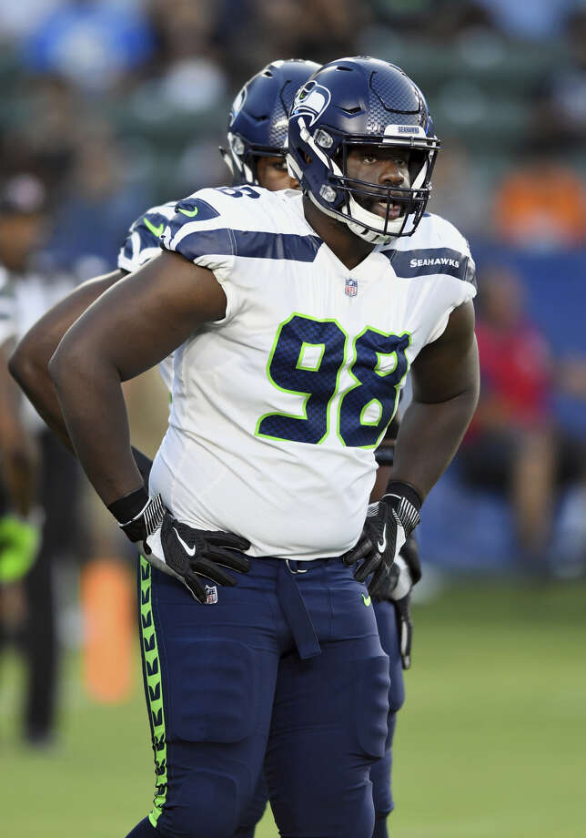 DT Shamar Stephen is headed back to the Minnesota Vikings on a three-year deal, according to ESPN.  Photo: John Cordes/Associated Press