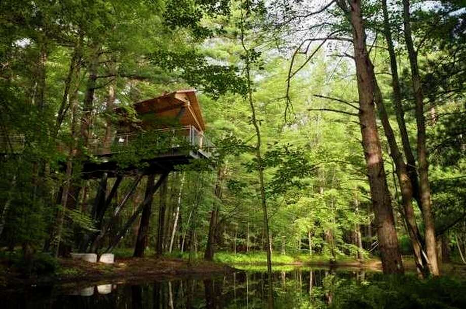 Above the treetops at Whiting Forest. (Daily News File Photo)