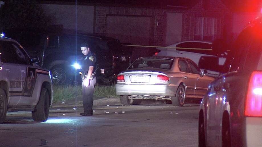 Two people were hospitalized in a shooting on Monday, Sept. 10, 2018, in the 6500 block of Highland Grass in Converse. Photo: Ken Branca