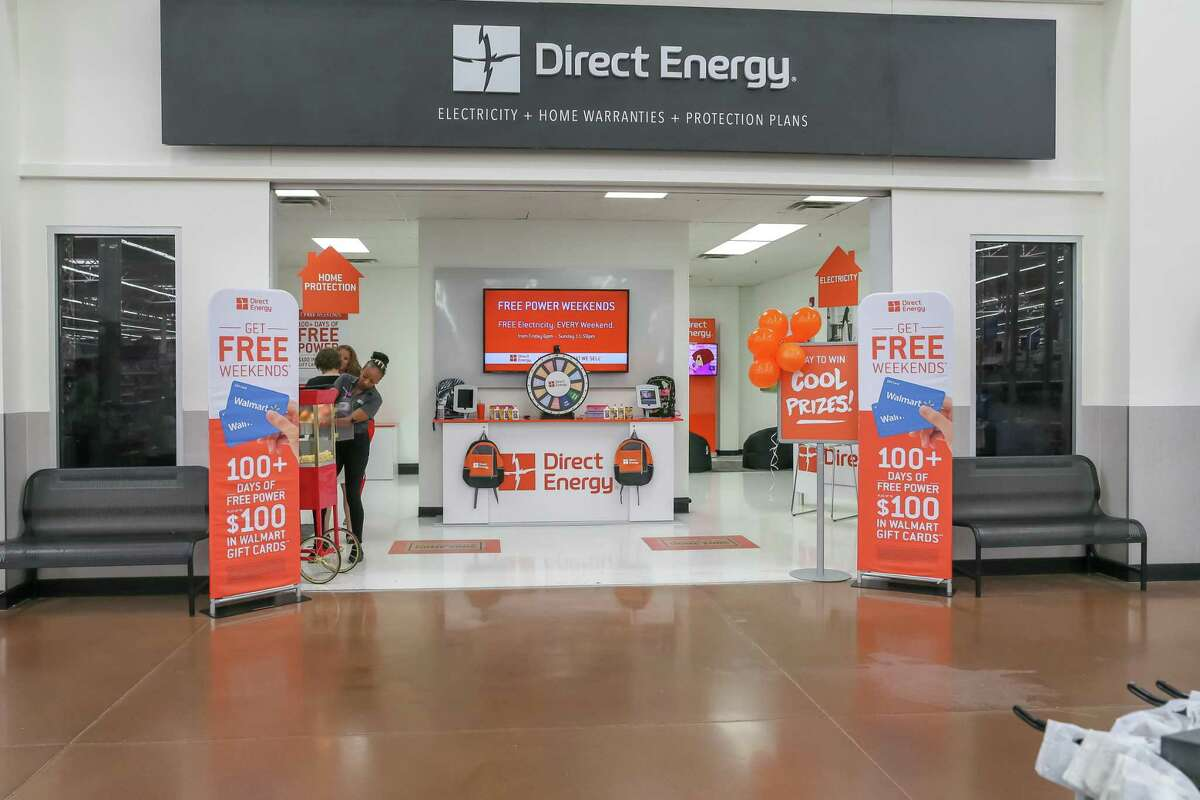 Shoppers at the Walmart Supercenter in League City used to be able to sign up for electricity service with Direct Energy. But the growing coronavirus pandemic is forcing such locations to close.