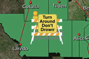 The National Weather Service has extended a flash flood watch for Webb County until 1 p.m. Monday.