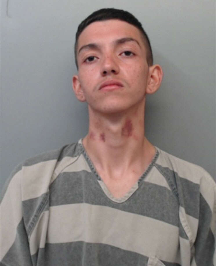 "Ivan ""Gallito"" Garcia, 18, was charged with aggravated assault. Photo: Webb County Sheriff's Office"