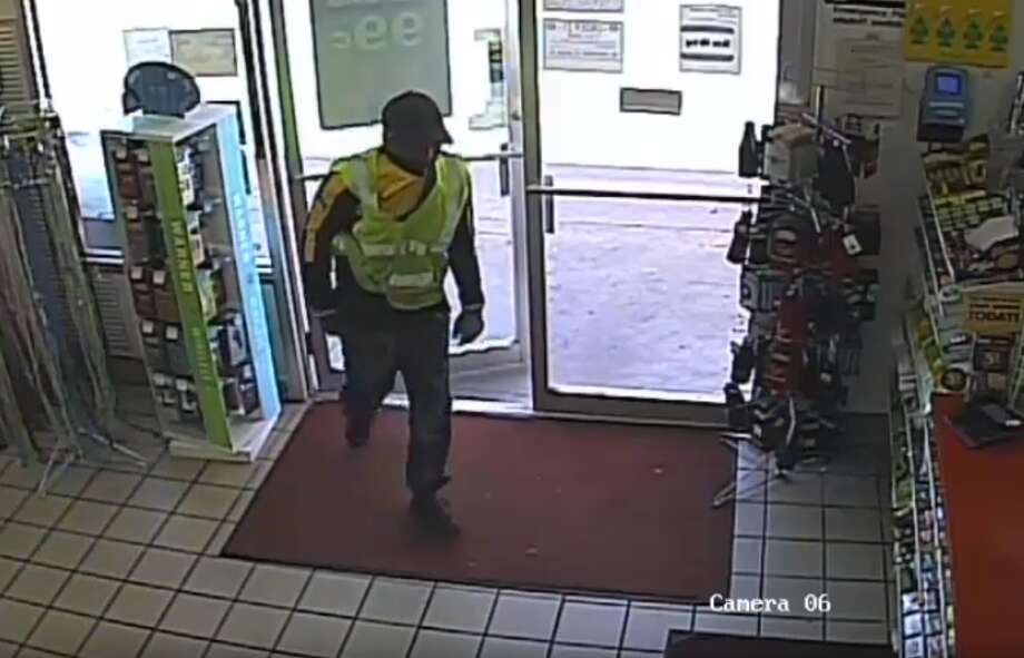 PHOTOS: Suspect appears to pistol-whip convenience store clerk 