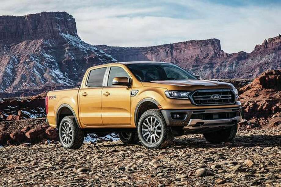 This undated photo provided by Ford Motor Co. shows the 2019 Ford Ranger, which returns to the midsize truck segment after a long absence. Photo: Associated Press