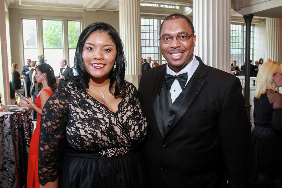 Leticia and Allen Williams at the Corinthian for the Houston Symphony Opening Night Concert & Gala.