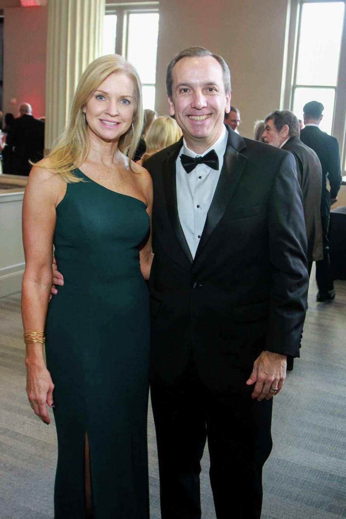 Robin and Juan Trebino at the Corinthian for the Houston Symphony Opening Night Concert & Gala.