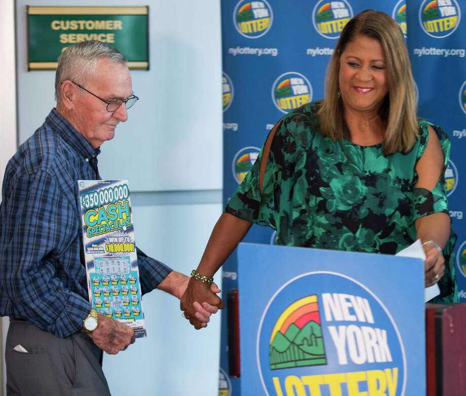 What would it be like to win a big Lottery prize? Click through for some Capital Region people who know the answer.  $10M scratch off winner Dale Farrand, 73, of Fort Edward is presented to the public by New York Lottery's Yolanda Vega at a press conference at the Lottery Headquarters Monday Sept. 10, 2018 in Schenectady, N.Y.   (Skip Dickstein/Times Union) Photo: SKIP DICKSTEIN, Albany Times Union / 20044764A