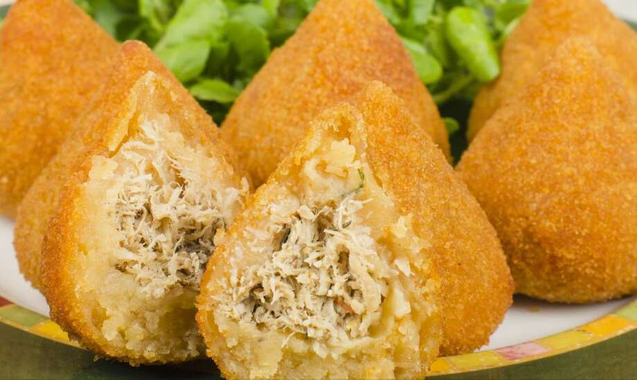 Zily Bites will serve Brazilian street food such as these chicken-stuffed coxinhas. Photo: Zilybites.com
