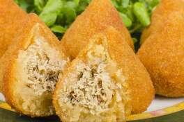 Zily Bites will serve Brazilian street food such as these chicken-stuffed coxinhas.