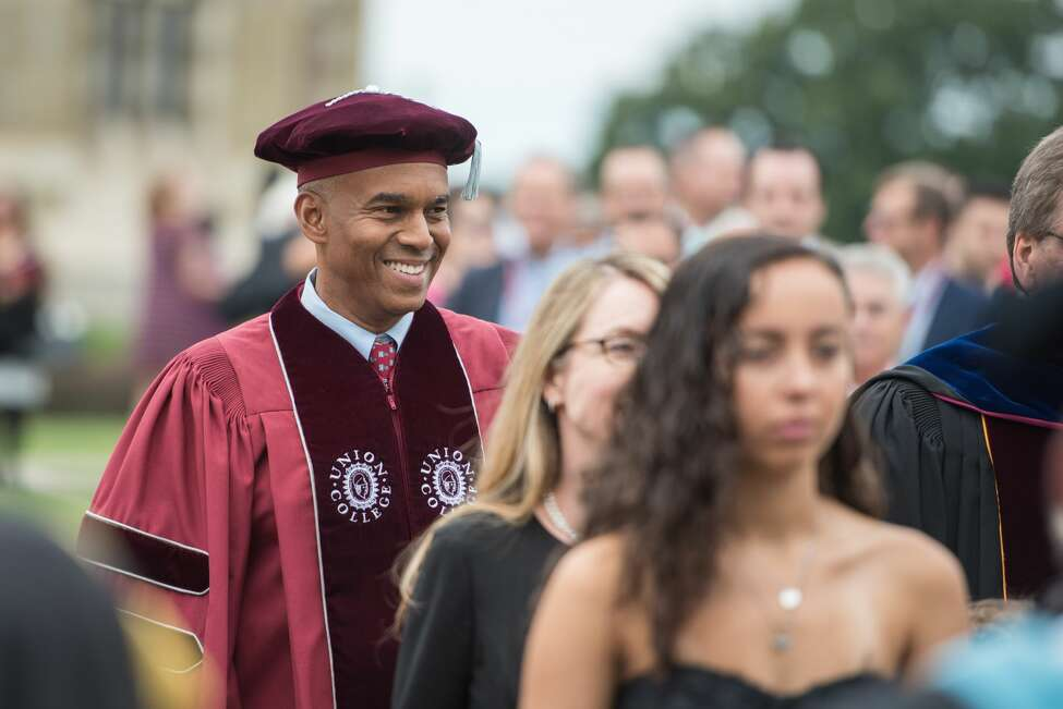 Were you Seen at festivities over the weekend of Sept. 7-9, 2018, celebrating the inauguration of Union College President David Harris?