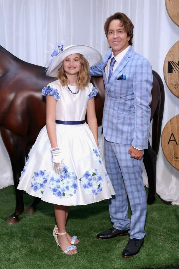 Photos: Dannielynn Birkhead and Larry Birkhead