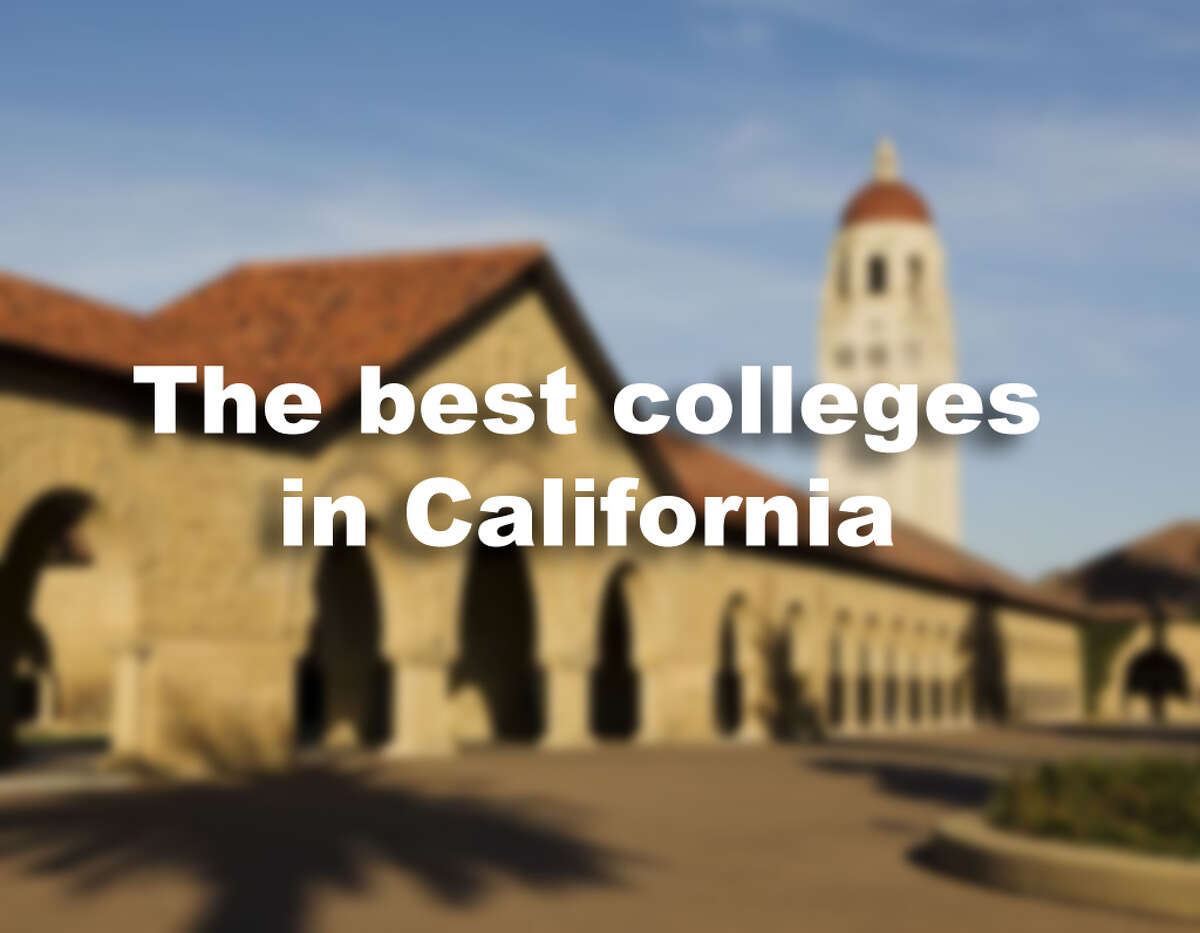 The best colleges in California in 2018 according to Forbes.
