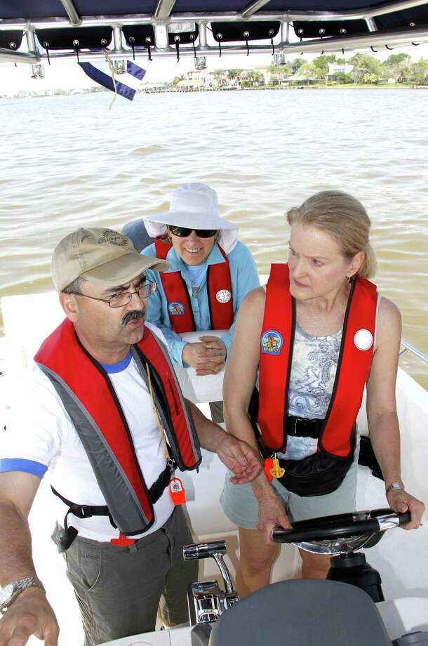 Wearing a personal flotation device - life jacket - while a vessel is underway is one of the most effective safety measures boat operators or passengers can take. But a national study indicates fewer than 10 percent of adults in open powerboats wear PFDs. Photo: Shannon Tompkins / Houston Chronicle