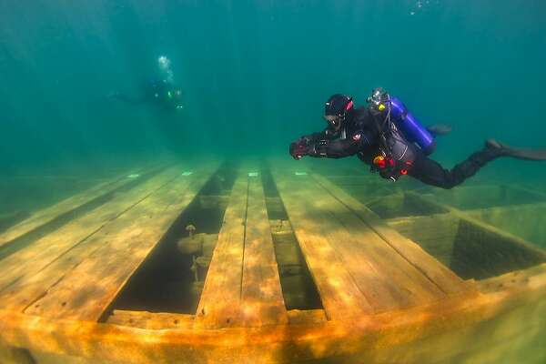 A new state park designated underwater trail at Emerald Bay State Park at Lake Tahoe includes the largest collection of sunken boats in America