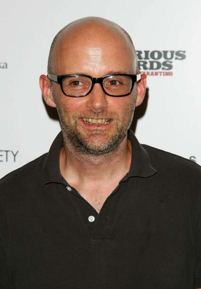 "NEW YORK - AUGUST 17: Musician Moby attends the Cinema Society and Hugo Boss screening of ""Inglourious Basterds"" at the SVA Theater on August 17, 2009 in New York City.  (Photo by Andrew H. Walker/Getty Images for The Weinstein Company) Photo: Andrew H. Walker / 2009 Getty Images"