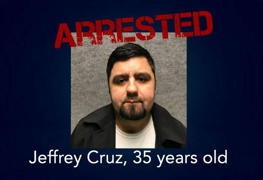 Jeffrey Cruz, 35, allegedly exposed himself to several people while wearing a mask and a trench coat. Photo: San Antonio Police Department