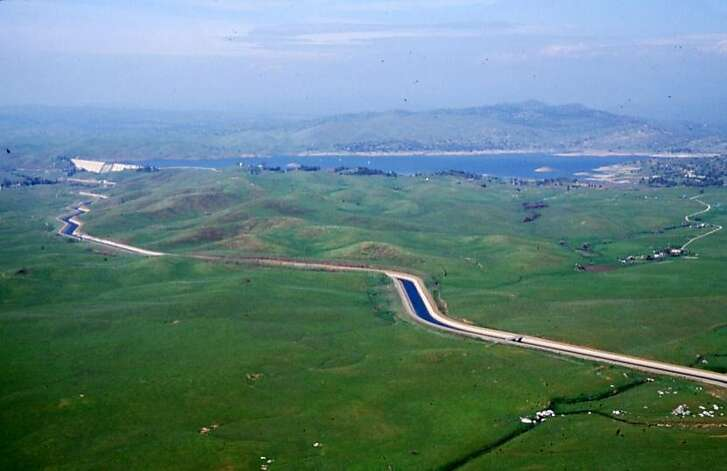 Friant-Kern Canal  This canal�s ultimate endpoint is the Kern River four miles west of Bakersfield. The 152-mile canal carries water south to farmers in Fresno, Tulare and Kern counties. The canal was finished in 1951.  Credit � Madera County Film Commission