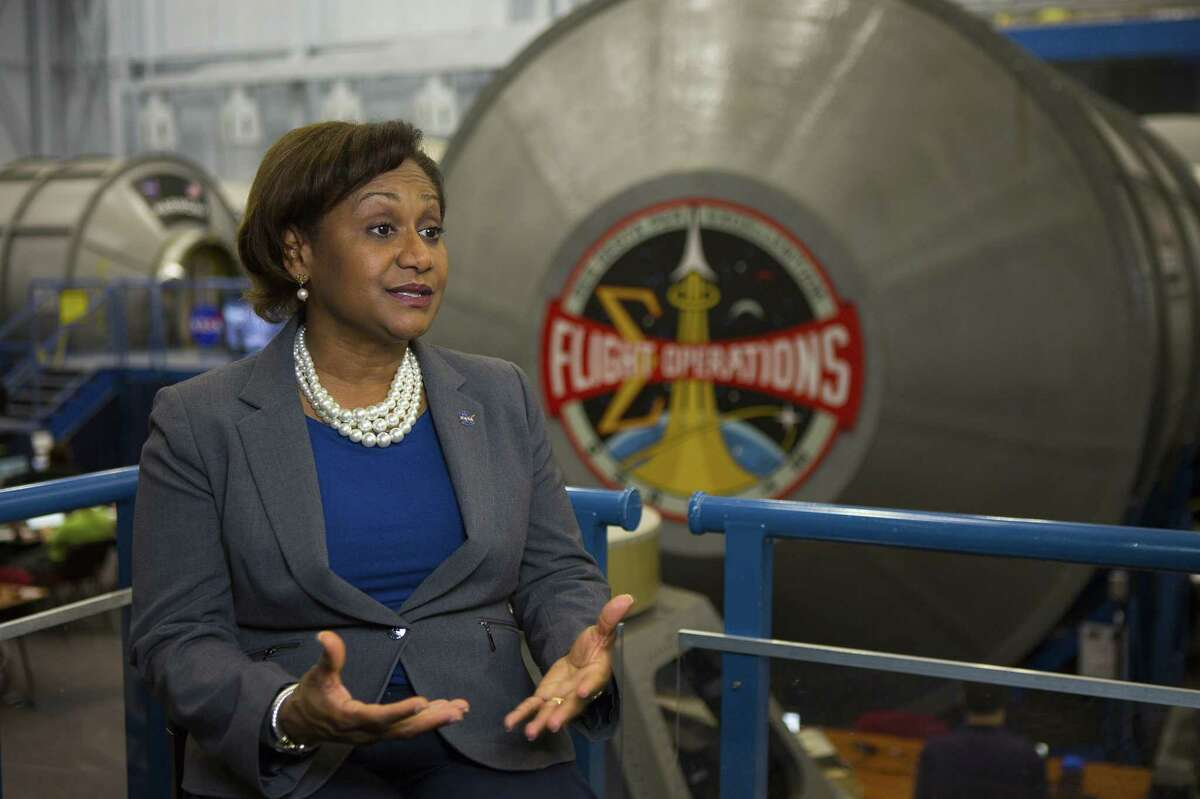 Vanessa Wyche, a nearly 30-year veteran of NASA, was tapped earlier this month as the second in command at Houston's Johnson Space Center, becoming the first African American to hold the position. Photographed at NASA, Thursday, Sept. 6, 2018 in Houston.