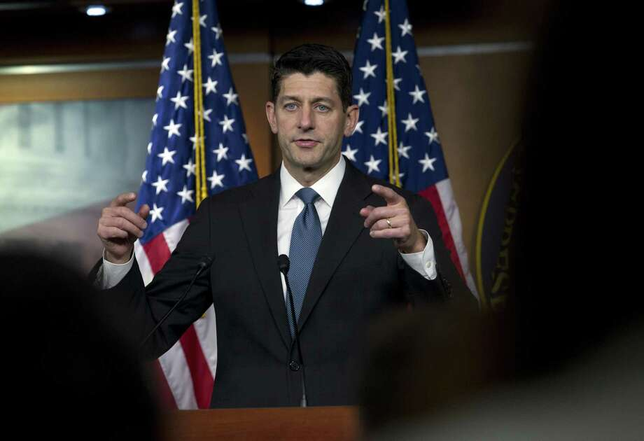 "Speaker of the House Paul Ryan, R-Wis. says whoever wrote an anonymous New York Times opinion column claiming officials in President Donald Trump's administration are preventing Trump from carrying out his worst instincts is ""living in dishonesty"" and shouldn't work for him. Photo: Jose Luis Magana /Associated Press / Copyright 2018 The Associated Press. All rights reserved"