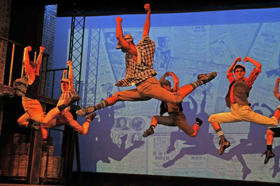 "The Public Theater of San Antonio is going big with its season opener. The theater is the first Alamo City company to tackle ""Disney's Newsies,"" the rousing musical adaptation of the 1992 movie about the 1899 newsboys strike. It's a dance-intensive show, and the cast includes three members of Ballet San Antonio — Ryland Acree, Jack Lennon and Alexander Allen. The show involves other big challenges, too, including projections, lots of props and complex costumes. It is the biggest show The Public has done, said CEO and Artistic Director George Green, who is directing the show. ""It's a bar raiser,"" he said.