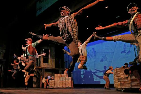 """The Public Theater of San Antonio sold the set and costumes for """"Newsies,"""" the company's season opener, a business that rents those sorts of things to theaters and schools across the country and in Canada."""
