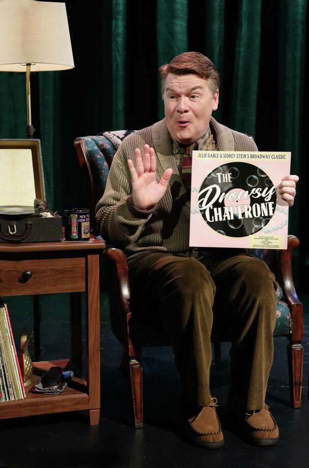"John Scherer portrays Man in Chair in ""The Drowsy Chaperone,"" on stage at The Goodspeed in East Haddam, Sept. 21 through Nov. 25. Photo: Diane Sobolewski / Contributed Photo / (C)2018 Diane Sobolewski, Goodspeed Musicals"