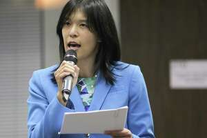 In this August 2017 file photo, Houston ISD Trustee Anne Sung addresses attendees during a forum in Houston. Sung chaired the district's Special Education Ad-Hoc Committee. ( Elizabeth Conley / Houston Chronicle )