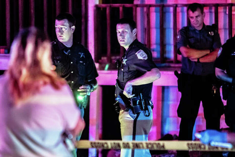 Sheriff's deputies responded to a call last month of shots fired at 152 S. Oak St. in Cottage Hills and found Huber, who police said was visiting with an occupant of the home at the time of the shooting. Photo: Nathan Woodside | Telegraph File Photo