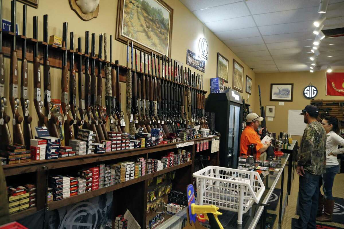 """Edward E. DeWees III, owner of Ranger Firearms, said his sales have been going great despite the """"Trump slump"""" that has affected gunmakers."""