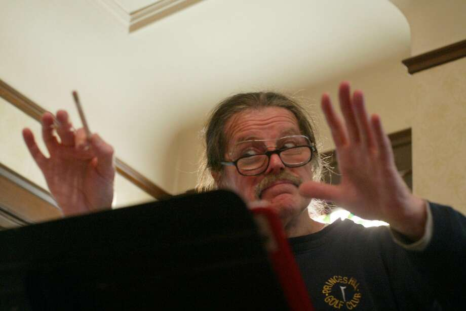 Juan Pedro Gaffney conducts his now-defunct Spanish-language chor, Coro Hispano de San Francisco, in 2004. Gaffney was appointed to the state Workers' Compensation Appeals Board this year by his longtime friend Gov. Jerry Brown. Photo: MIKE KEPKA / The San Francisco Chronicle
