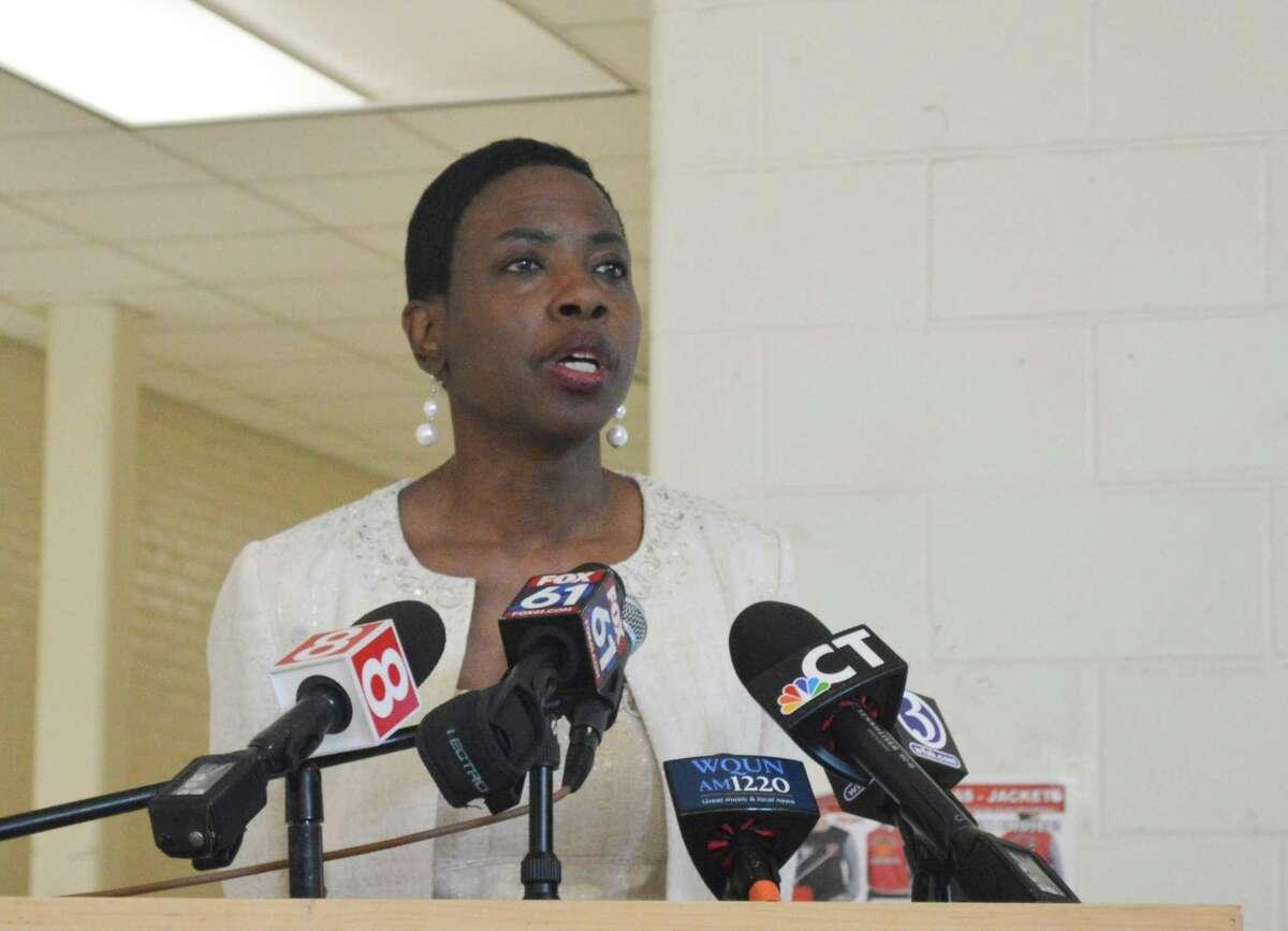 New Haven Superintendent of Schools Carol Birks